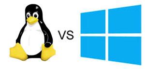 Linuxcomputers vergelijking Windows en Linux