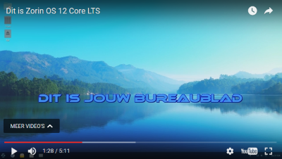 Video over Zorin OS